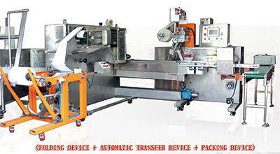 A10A. Wet towel making machine (Roller type)