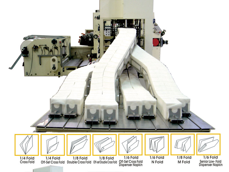 A4-4. Napkin converting Machine