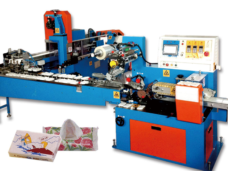 A5. Pocket size facial tissue making machine