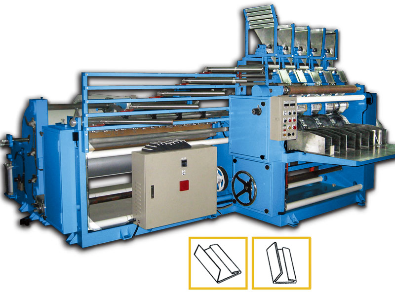 A3. C fold converting machine