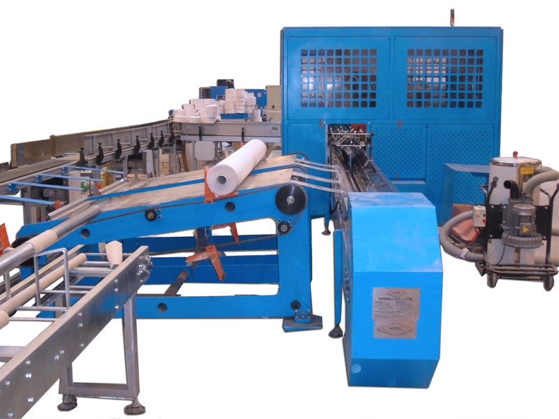 B3. Big log saw cutting machine for Maxi Roll (J.R.T.)  One line input