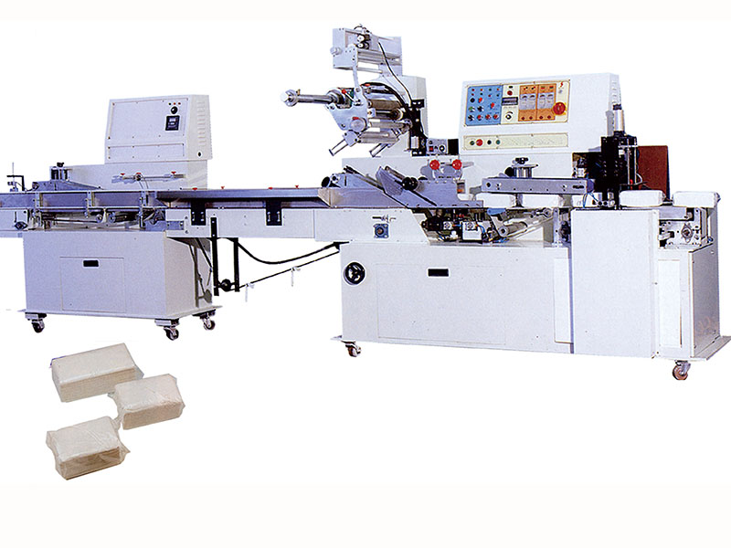 C7.Pillow type packing machine for V ,Z fold hand towel/Pocket size /Kitchen towel