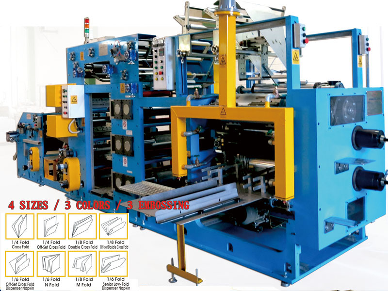 A4-2. Napkin converting Machine_4S4E3C